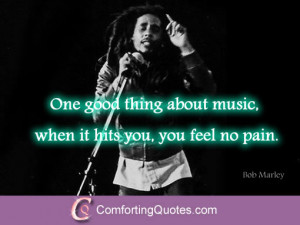 Bob Marley Quotes About Music and Peace