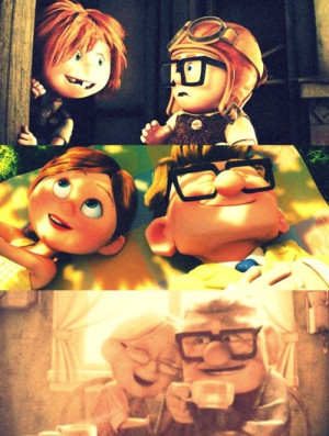 Ellie and Carl from Up