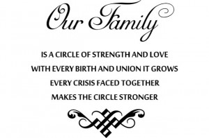 Inspirational Quotes About Family Strength Quotes About Family ...
