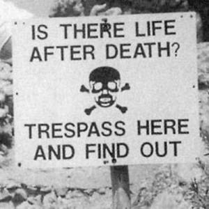The lighter side of death
