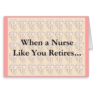 Funny Nurse Retirement Card