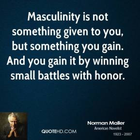 Masculinity Quotes