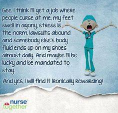 Nursing Rocks, Nursing Stuff, Life, Job, Nursing Funny, Nur Humor ...