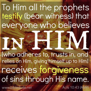 Bible Quotes About Forgiveness