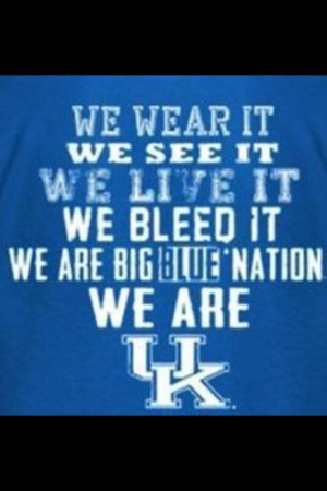 Wildcats... Think About It... :)) #BBN