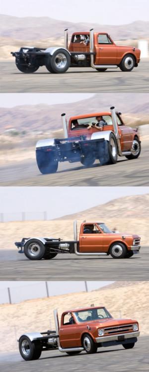 Custom 1967 Chevy Truck The Beast Image