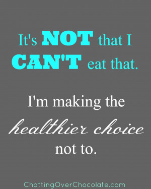 eating healthy quotes