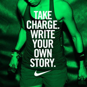 Write your own story! http://allnaturalnutritionbykrista.wordpress.com