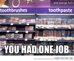 Funny photos funny one job meme