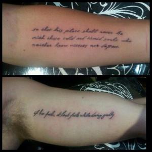 Miley Cyrus & Liam Hemsworth: Tatuajes en honor a Roosevelt