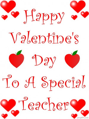 Valentines Quotes For Teachers Valentine ideas for teachers