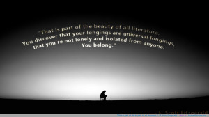 """... is part of the beauty of all literature…"""" – F. Scott Fitzgerald"""