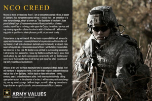 The NCO Creed (U.S. Army)