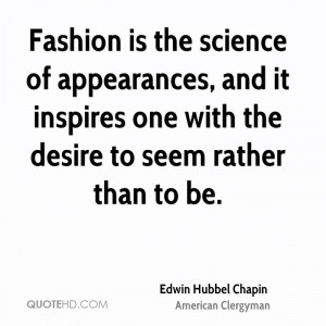 Edwin Hubbel Chapin Science Quotes