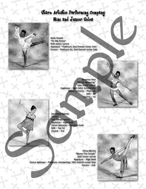 Other sample pages from Dianne's School of Dance recital program. We ...
