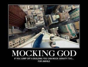 Mocking God