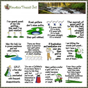 golf lover quotes n quilt block set 1 golf lover quotes n quilt block ...