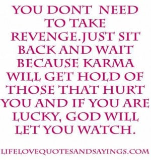 Revenge love quotes and sayings