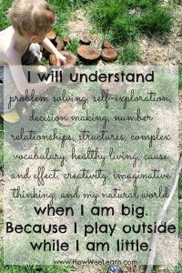 20 inspiring quotes about nature, children, and the importance of play ...