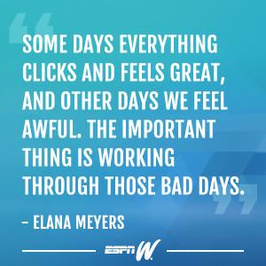 Follow Elana Meyers's journey throughout the Sochi Olympics: