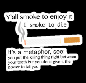 ... › Portfolio › Alaska Young/ Augustus Waters quote about smoking