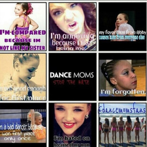 Dance Moms Quotes!!