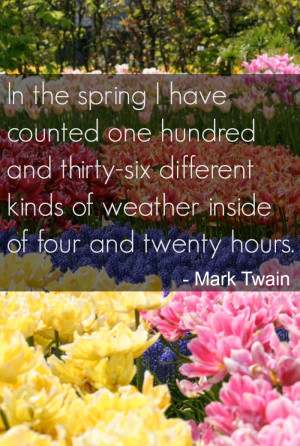 Funny Spring Quotes Inspirational