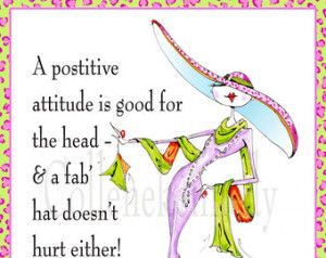 Woman humor art with uplifting quot e 5x7 framed print ...