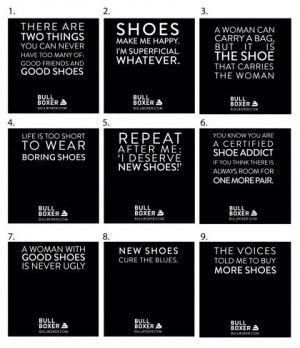 Great shoe quotes!