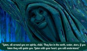 Pocahontas grandmother Wilow