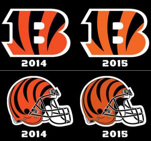 Cincinnati Bengals New Nfl Helmets 2015