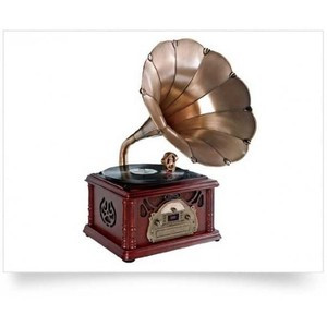 Old Fashioned Record Player Vinyl