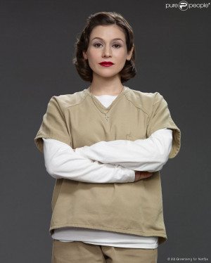 Yael Stone est Morello dans Orange is the New Black - photos ...