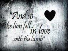 quoted,twilight,twilight saga,lion and lamb