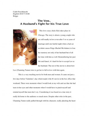 The Vow Quotes Moments Of Impact The vow final