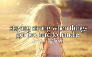 girl, girly things, quote, strong, text