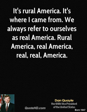 rural america quote 2
