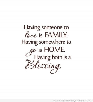 Cute family quotes