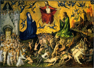 ... getting nuts down there. [ The Last Judgment by Stefan Lochner, 1435