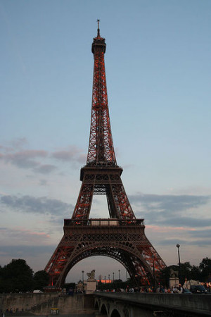 Bow Eiffel Tower Love Pretty Quotes