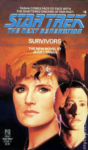 Star Trek The Next Generation Survivors PB (1989 Novel) #1-1ST