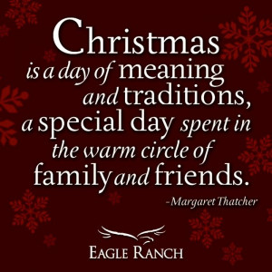 Christmas Is A Day Of Meaning And Traditions, A Special Day Spent In ...
