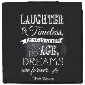 Beautiful Walt Disney quote! Dream!
