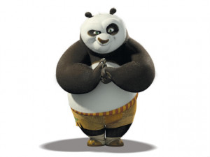 Jack Black Po The Panda G1 Wallpaper