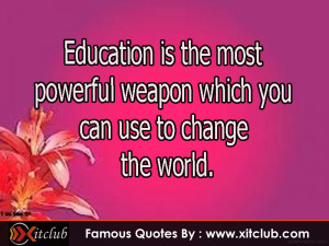 Famous Quotes About Education