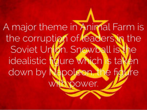 How is fear used throughout Animal Farm?
