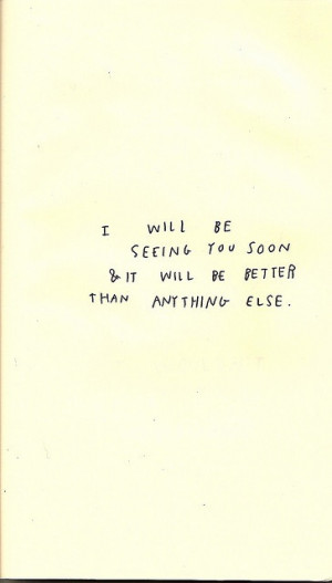 see you soon | 2013