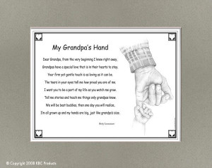 ... Granddaughters Poems, Hands Poems, Fathers Day Ideas, Grandpa Hands