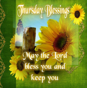 Thursday's Blessing
