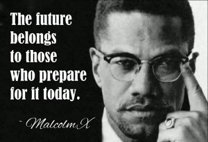 human rights activist and muslim minister, Malcolm X stood for black ...